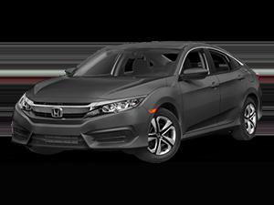 Grey Honda Sedan