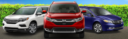 Odyssey, CR-V and Pilot Financing