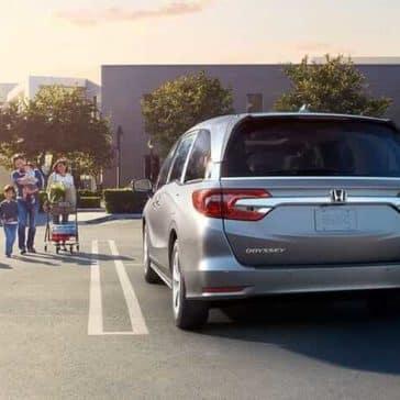 2019 Honda Odyssey rearview