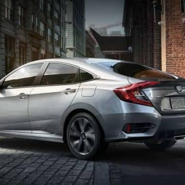 2019 Honda Civic sedan sport rear