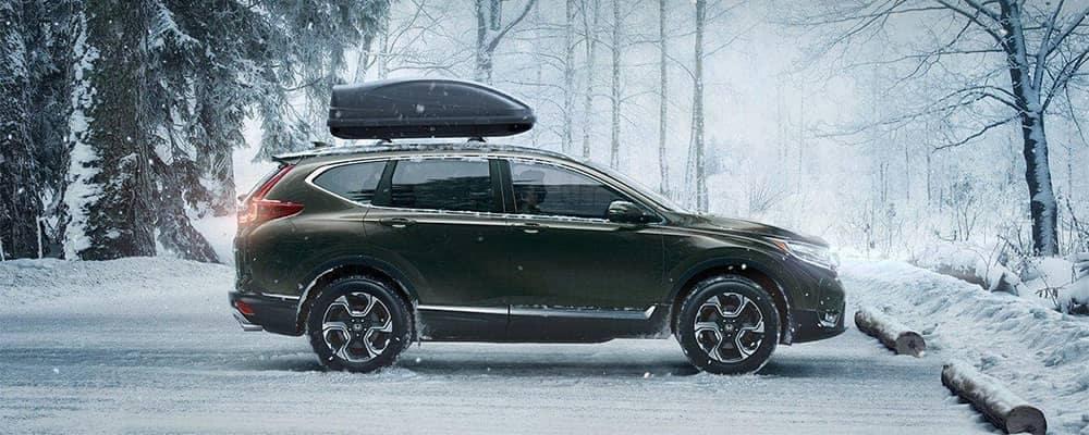 2019 Honda CR-V Parked in the Snow