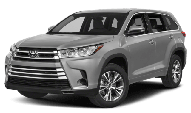 2019 Toyota Highlander SUV front view