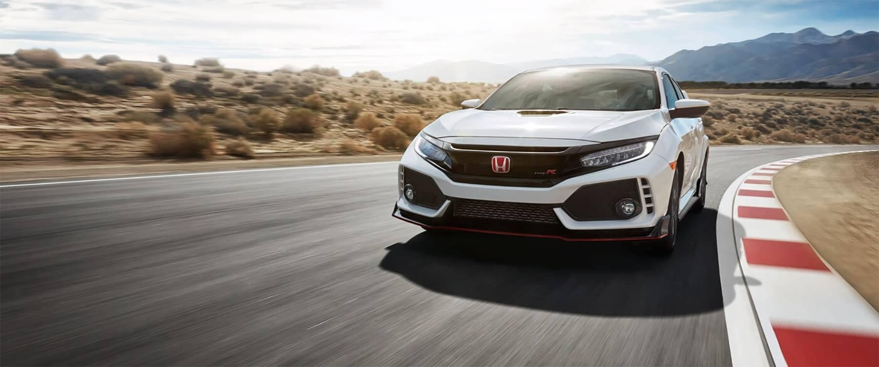 2019 Honda Civic Type R Driving