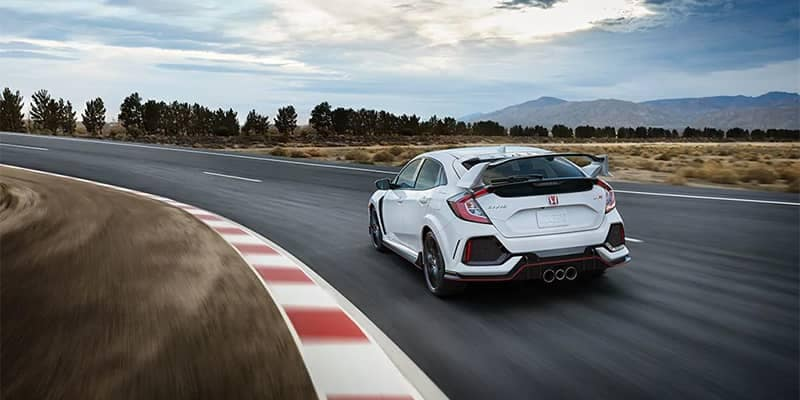 2019 Honda Civic Type R Rear Driving