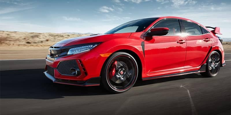 2019 Honda Civic Type R Red Driving