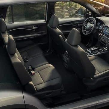 2019 Honda Passport rear seating