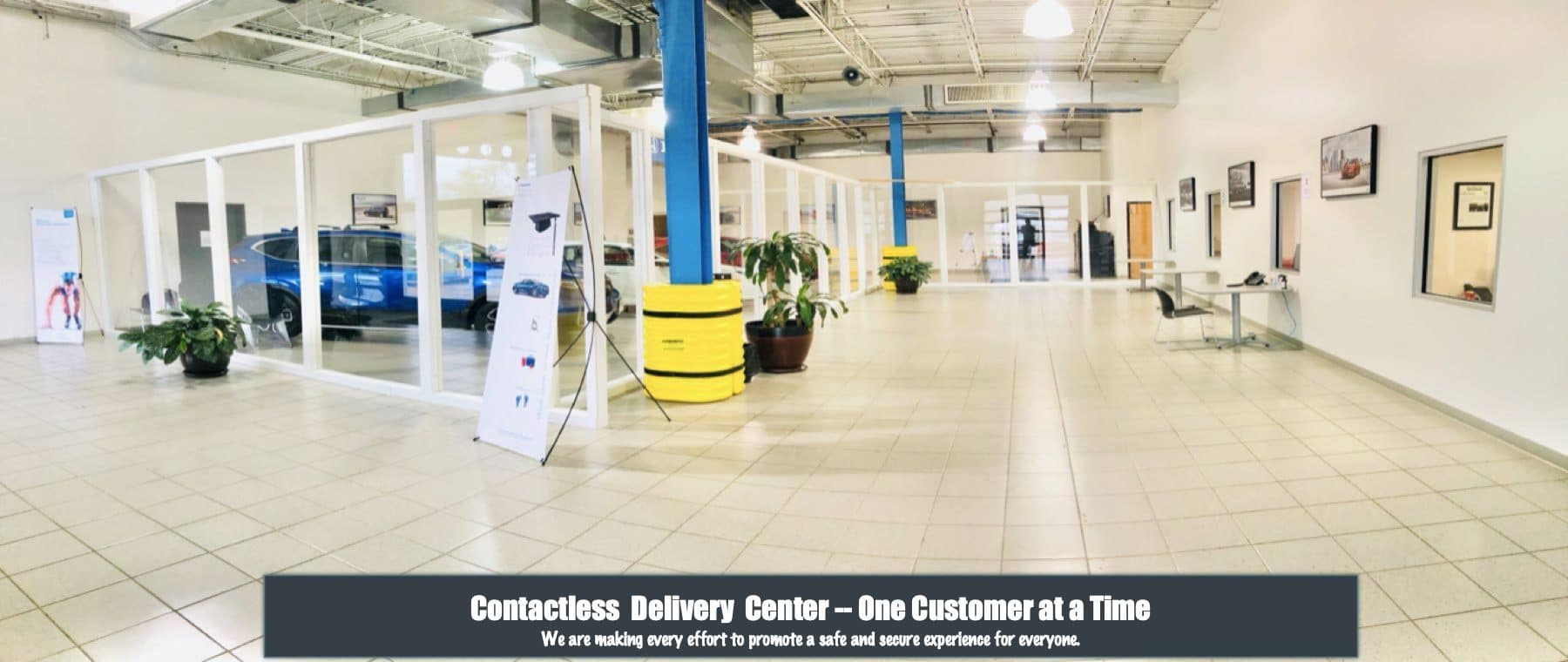 Contactless Delivery Center