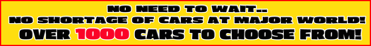 1000 Cars to Choose From