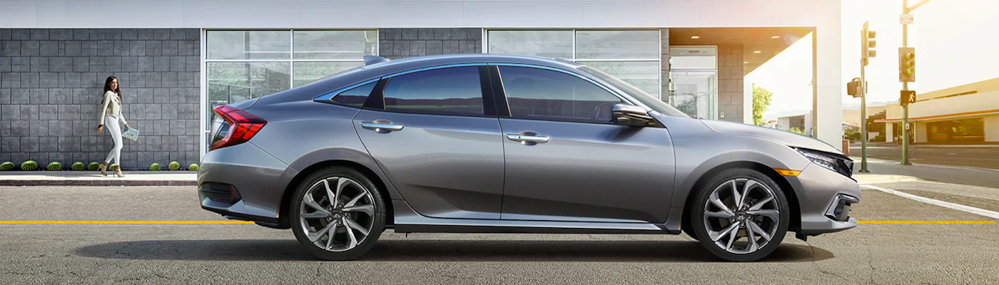 2019 honda civic silver