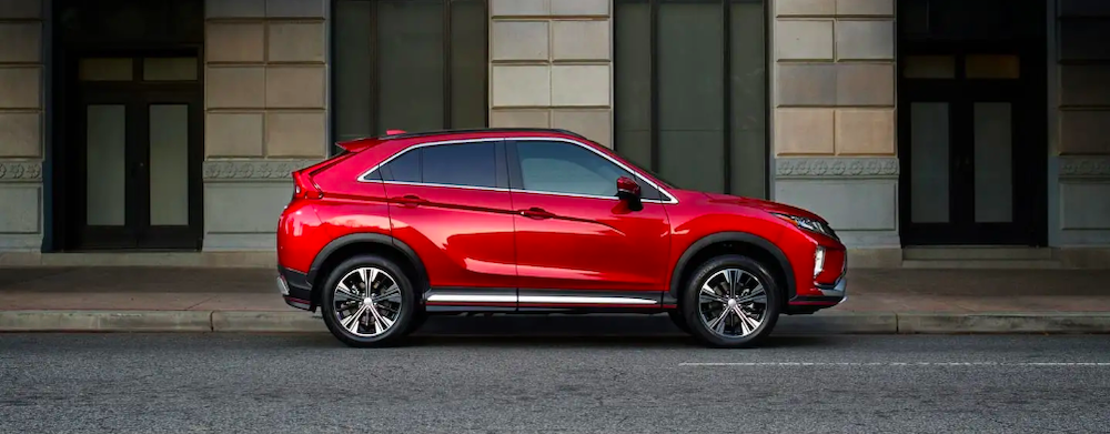 2018 mitsubishi eclipse cross red