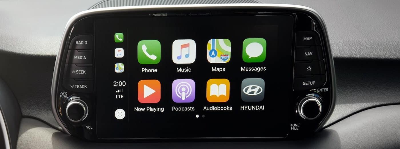2020 hyundai tucson bluetooth dashboard