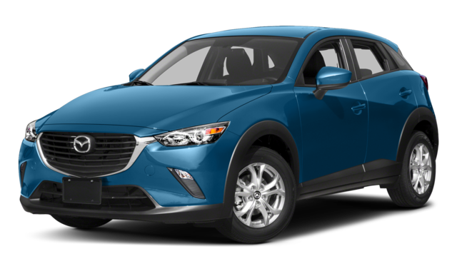 2017 mazda cx-3 blue exterior