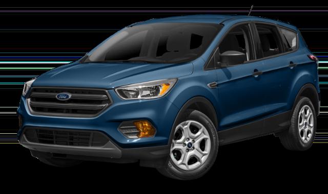 2018 ford escape blue exterior