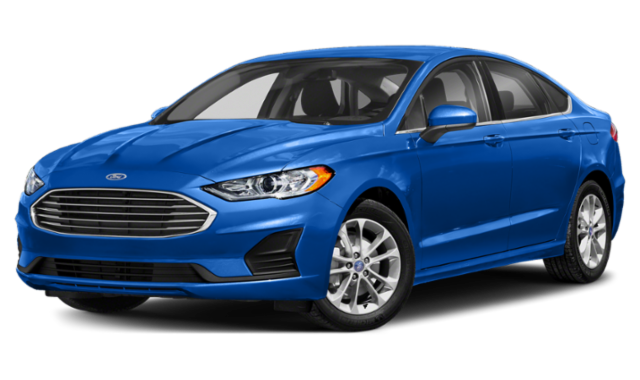 2019 ford fusion blue exterior