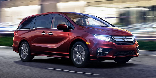 New Honda Odysseey vs Chrysler Pacifica