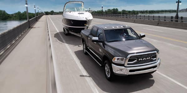 Ram 2500 vs GMC 2500 towing at Mancari CDJR near Palos Hills, IL