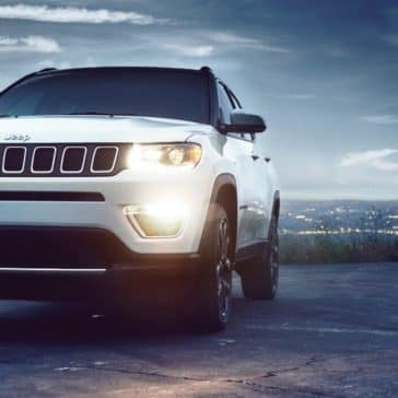 2018 Jeep Compass front fascia