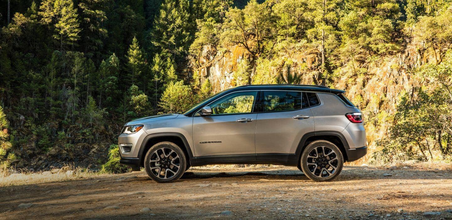 2018 Jeep Compass side exterior