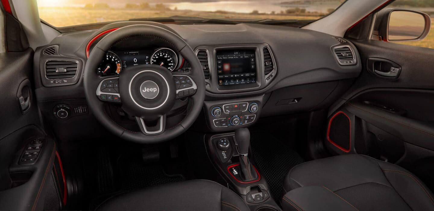 2018 Jeep Compass interior cabin