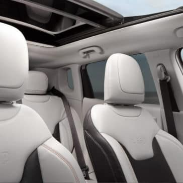 2018 Jeep Compass seating