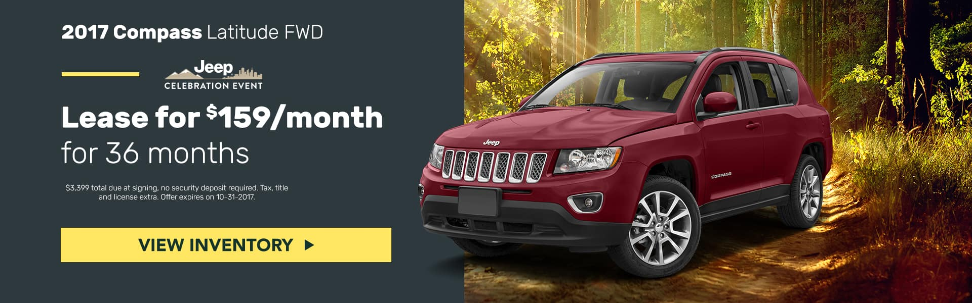 Jeep Compass October Mancari's