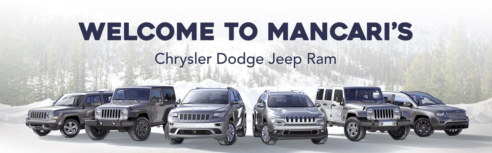 Mancaris Chrysler Dodge Jeep RAM Inc CDJR Dealer In Oak Lawn - Midway jeep chrysler dodge ram