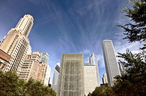 chicago sky scrapers