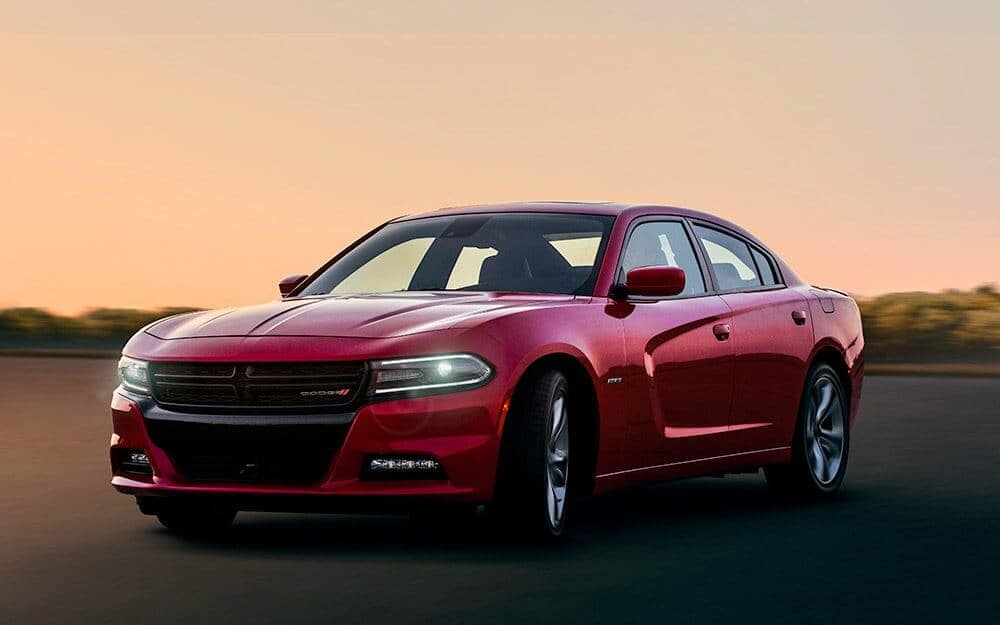 2017 Dodge Charger Red Exterior