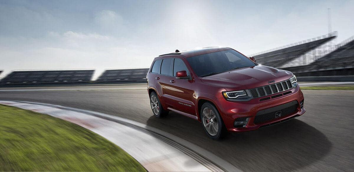 2018 Jeep Grand Cherokee on road