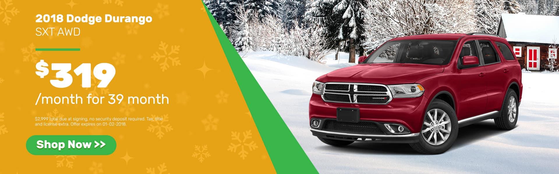 Durango December Offer Chevrolet of Naperville