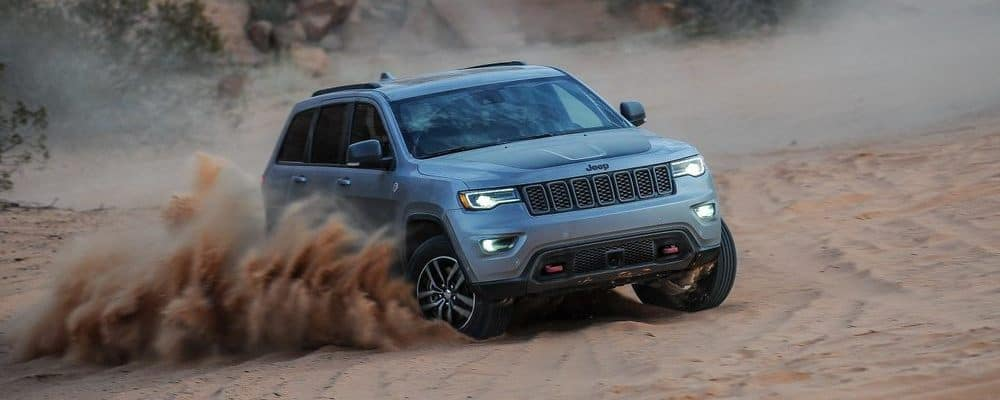 2018 Jeep Cherokee Dirt