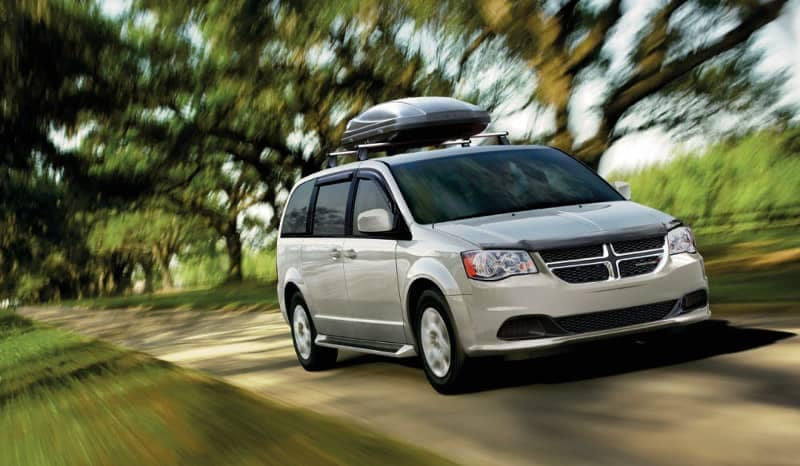 2018 Dodge Grand Caravan on road