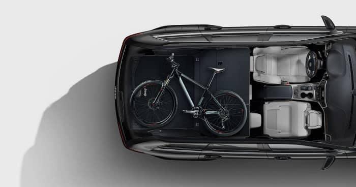 2018 Jeep grand Cherokee Storage Folding Seats