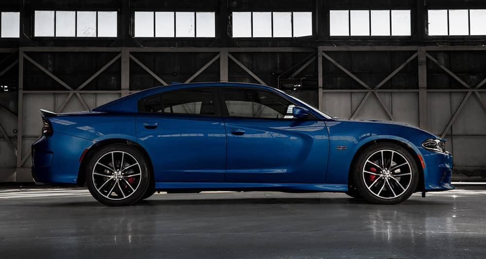 2018 Dodge Charger in blue