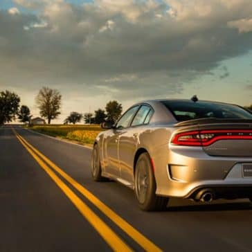 2018 Dodge Charger on road