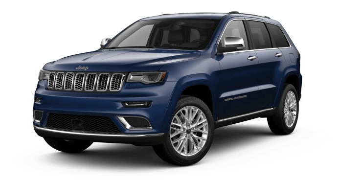 2018 Jeep Grand Cherokee in True Blue