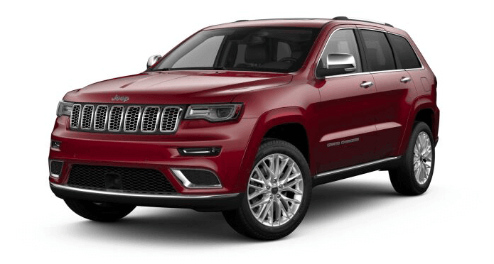 2018 Jeep Grand Cherokee in Velvet Red