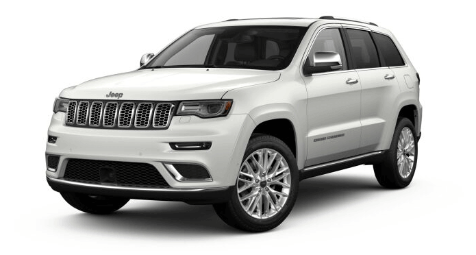 2018 Jeep Grand Cherokee Overland in Ivory Tri-coat