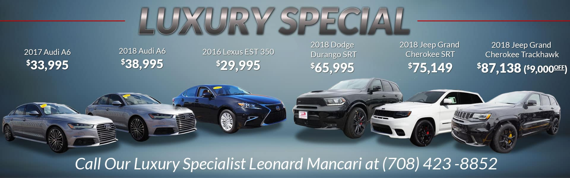 Luxury Special at Mancari's