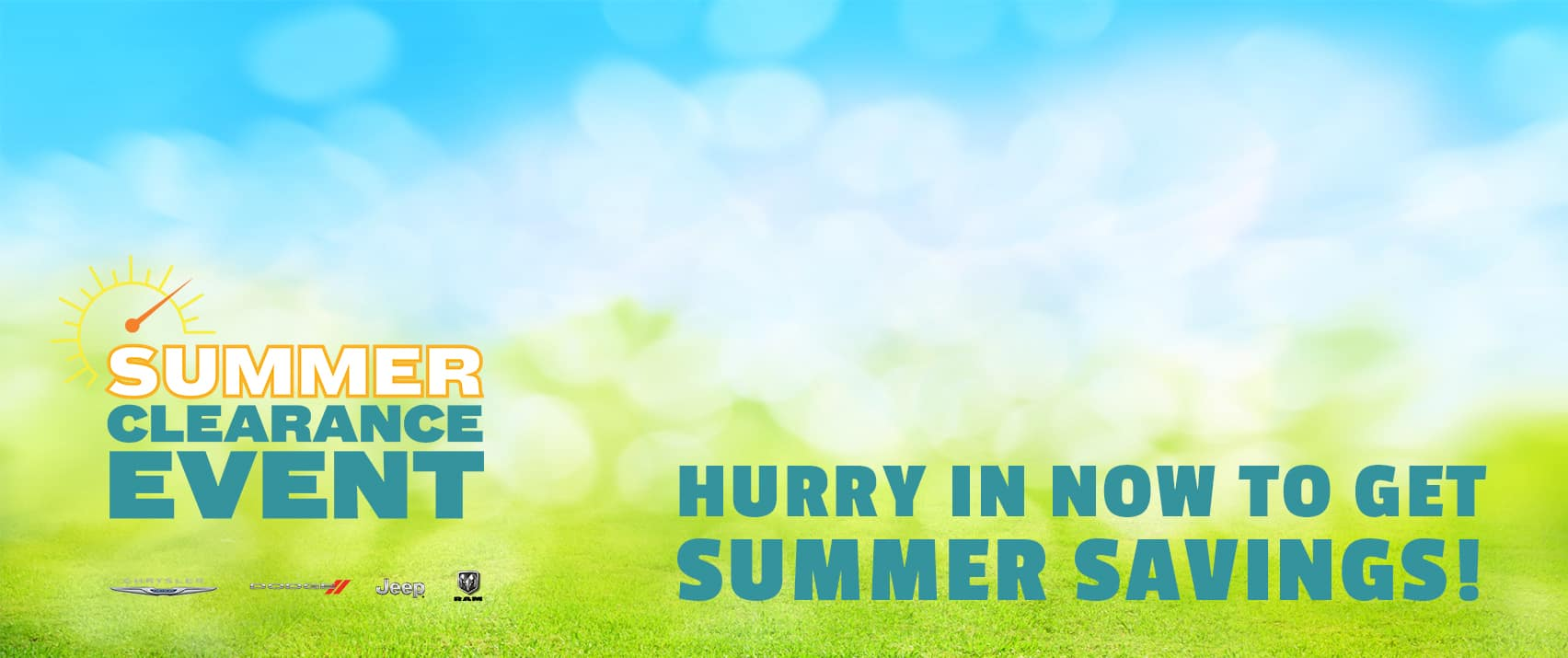 Summer Clearance Event at Mancari's