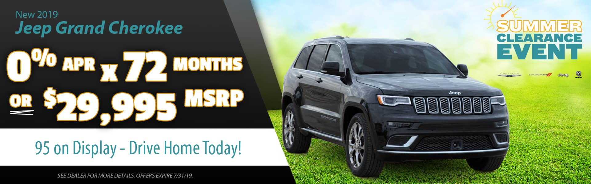 Grand Cherokee offers