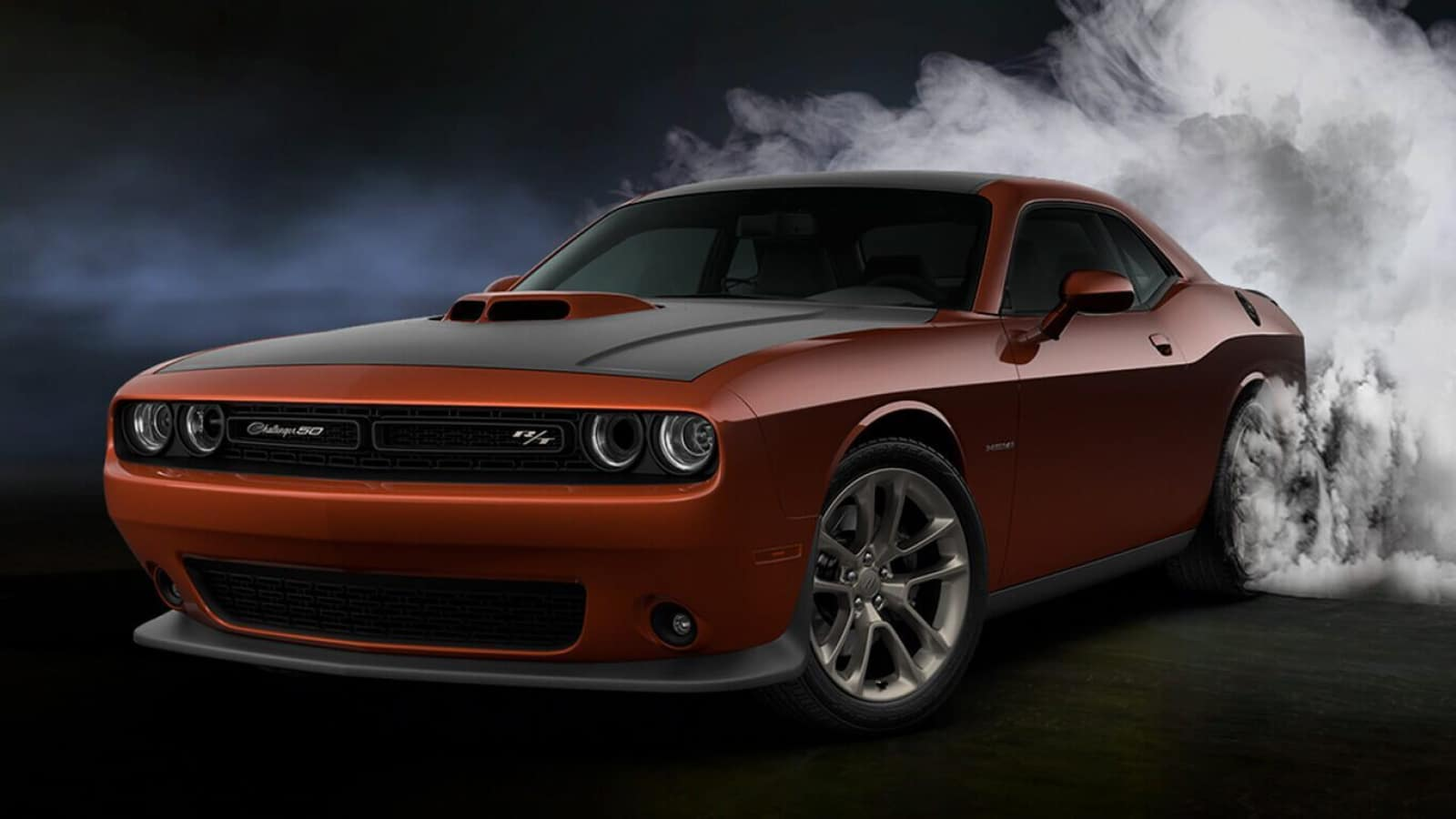 The sleek exterior of the 2020 Dodge Challenger