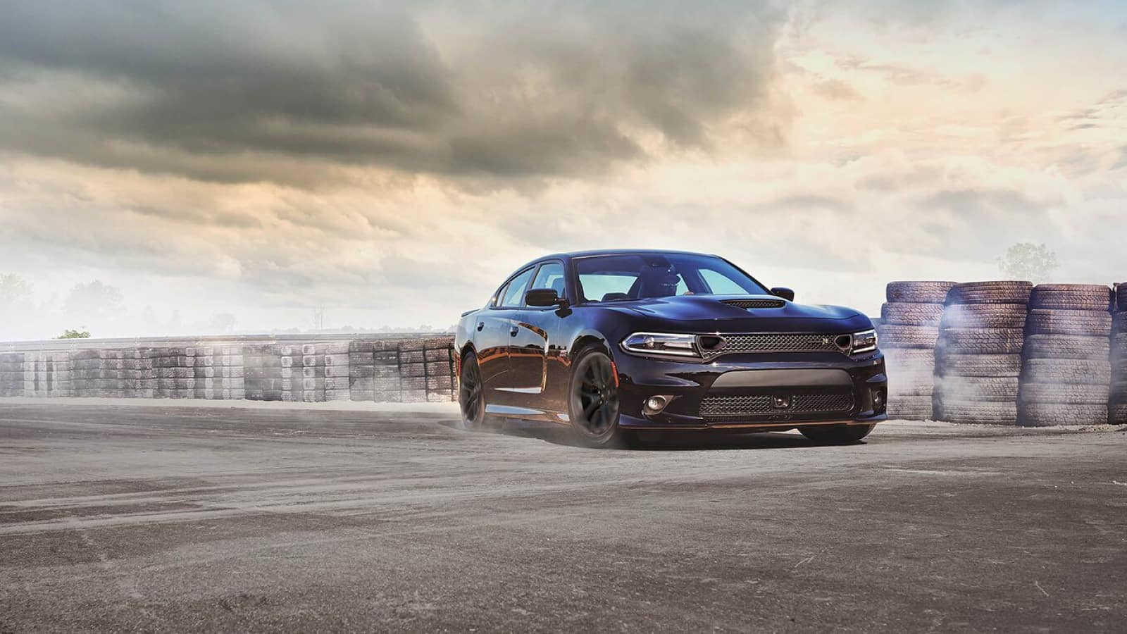 The sporty exterior of the 2020 Dodge Charger