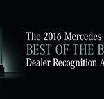 Mercedes-Benz of Baton Rouge: Winner of The 2016 Mercedes-Benz Best of the Best Dealer Recognition Award