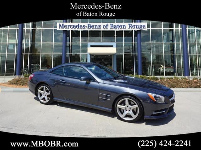 Certified Pre-Owned 2014 Mercedes-Benz SL 550 Rear Wheel Drive COUP/RDST