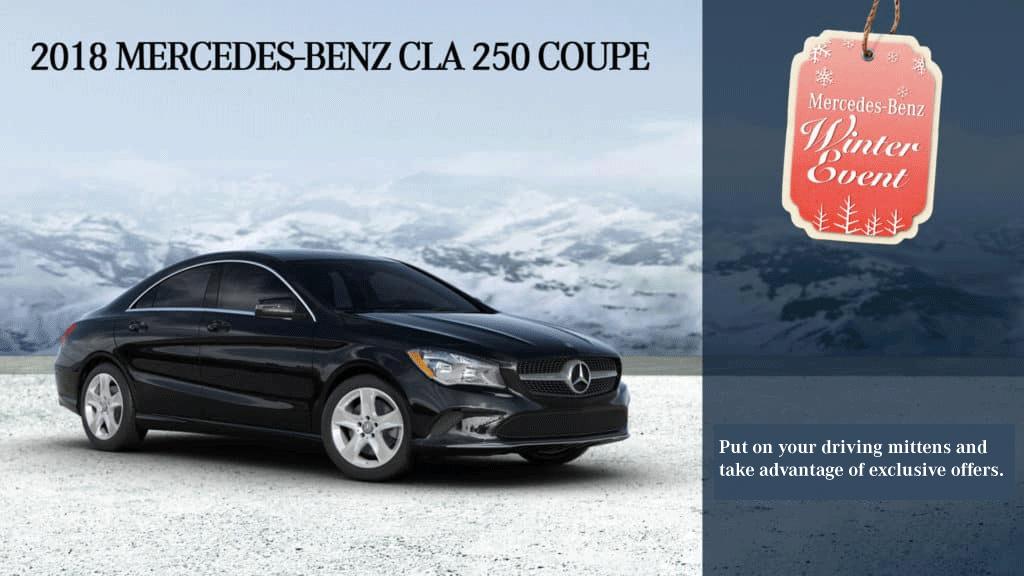 2018 CLA 250 Coupe