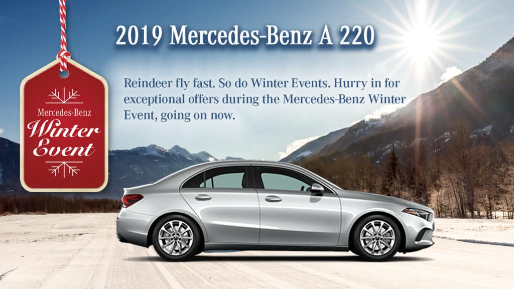 2019 Mercedes-Benz A 220 Sedan