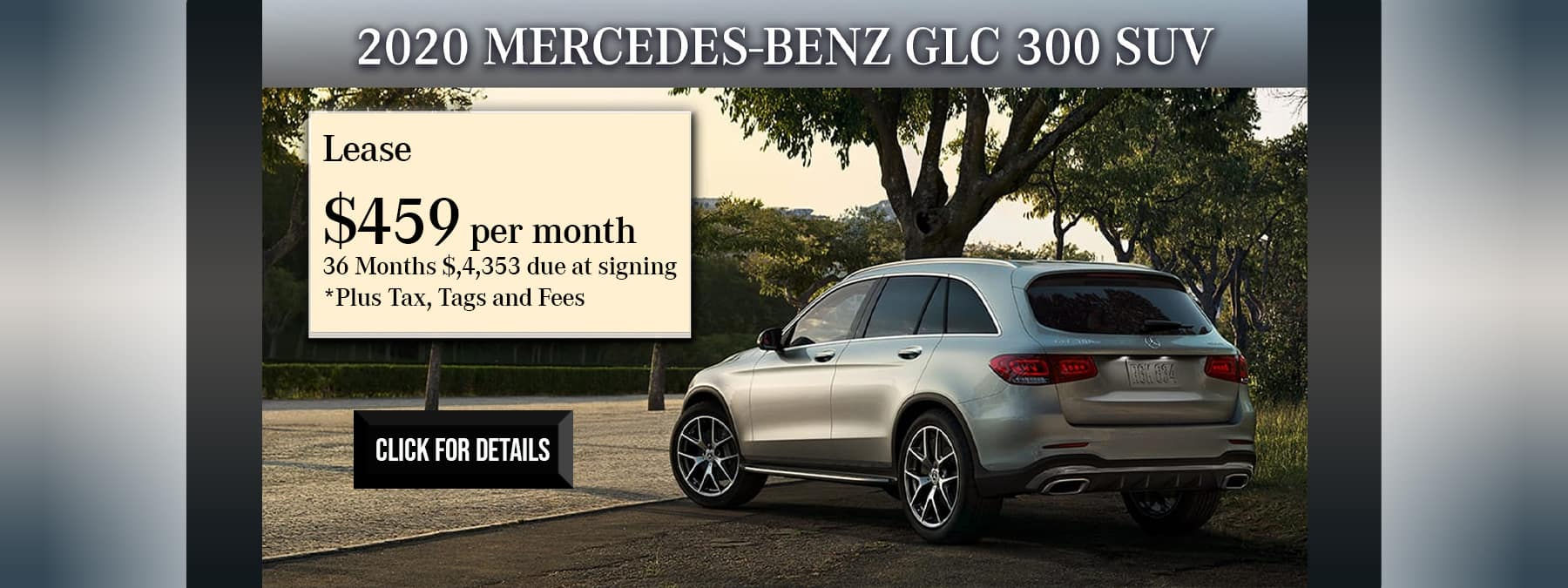 october glc home page offer