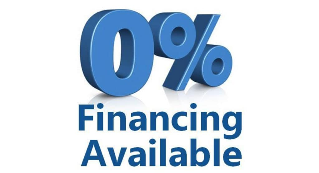 Zero Percent APR Offers