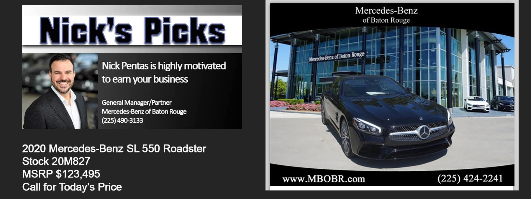 nicks picks front banner Stock 20M827